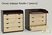 Детский комод-пеленатор ORIS-4 (Комбинированный №1)