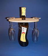 Подставка под бокалы на бутылку заготовка для декупажа и росписи