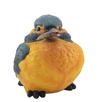 Садова фігура Пташка з рибкою велика