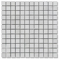 Мозаика Полир. МКР-2П (23х23) 6 мм White Mix