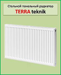Сталевий радіатор Terra teknik 11k 500*500 бокове підключення