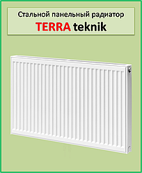 Сталевий радіатор Terra teknik 11k 500*2000 бокове підключення