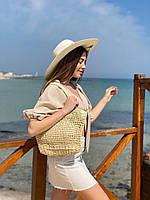 """Сумка жіноча пляжна поліуретанова з підкладкою розмір 26*40 см """"MILANA"""" недорого від прямого постачальника"""