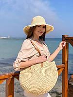 """Сумка жіноча пляжна поліуретанова з підкладкою розмір 43*47 см """"MILANA"""" недорого від прямого постачальника"""
