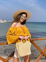 """Сумка жіноча пляжна поліуретанова з підкладкою розмір 26*36 см """"MILANA"""" недорого від прямого постачальника"""