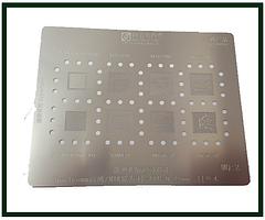 Трафарет BGA AMAOE MQ:2 для MT6758V, MT6768V, MT6765V, MT6779V, SDM439, MT6761V, MSM8909W