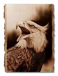 Портрет тварини (Пірографія) 400 х 400мм