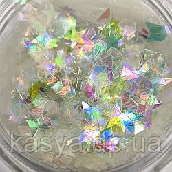 Райдужні фігурки мікс / Rainbow Flitter Mix
