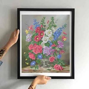 Набір для вишивки Вереснева квіткова композиція НБН-034
