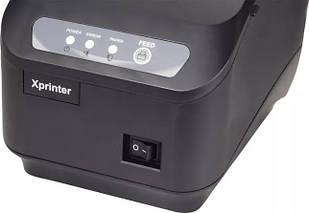 Принтер чеков с автообрезкой Xprinter XP-Q200II, фото 3