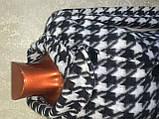 Трендовий турецький чорно - білий жіночий двобортний піджак, фото 3