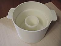 Форма для сыров(на2-5кг)с поршнем