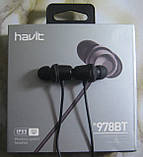 Беспроводные bluetooth наушники Havit H978BT, фото 2