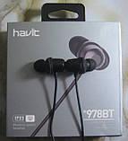 Бездротові bluetooth-навушники Havit H978BT, фото 2