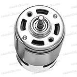 Міні електродвигун RS775 12v 12000rpm 150W електромотор дриль шуруповерт електро двигун, фото 9