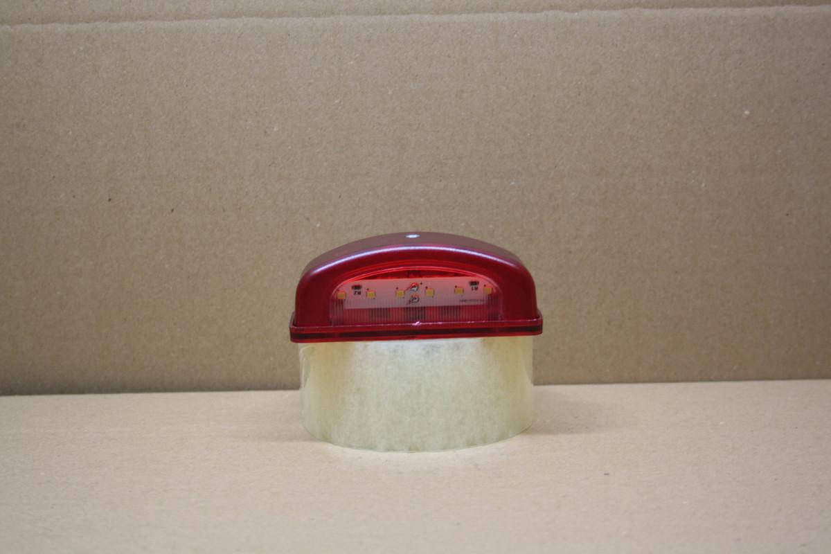 Подсветка номера диодная красная 2-х функциональная 0216