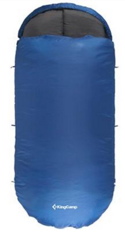 Комфортный спальный мешок KingCamp Freespace 250(KS3168) / 7°C, R Blue 55783 синий