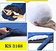 Комфортный спальный мешок KingCamp Freespace 250(KS3168) / 7°C, R Blue 55783 синий, фото 5