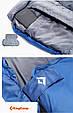 Надежный спальный мешок KingCamp Freespace 250(KS3168) / 7°C, L Grey 94888 серый, фото 9