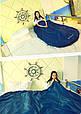 Комфортный спальный мешок KingCamp Freespace 250(KS3168) / 7°C, R Blue 55783 синий, фото 7