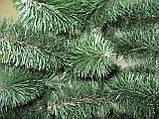 Искусственная елка Принцесса 1,9 м зеленая с белыми кончиками (ЯШП-БК-1,90), фото 2