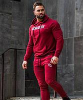 Червоний чоловічий спортивний костюм VQH - №6627, фото 1