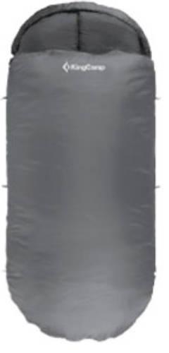 Надежный спальный мешок KingCamp Freespace 250(KS3168) / 7°C, L Grey 94888 серый