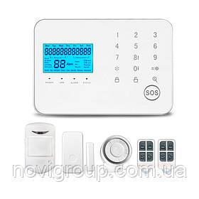 Комплект бездротової GSM + WIFI сигналізації WL-99CGST