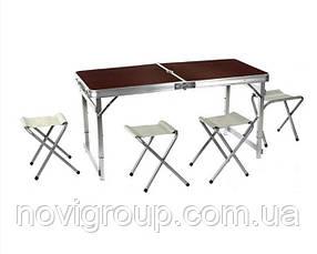 Стіл для пікніка Rainberg RB 333 з 4 стільцями