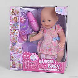 """Пупс """"Baby"""" с магнитной соской (Warm baby) арт. 058 A-026 B-2"""