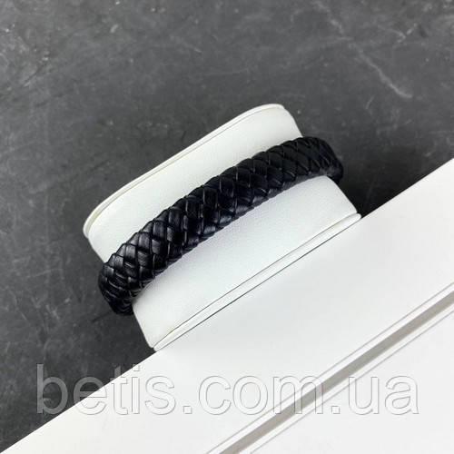 2B Rich Bracelet 6 mm, 19 cm Black-Silver