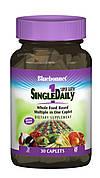 Мультивитамины без железа, Single Daily, Bluebonnet Nutrition, 30 капсул