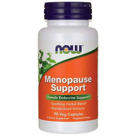 Менопауза, Травяной Комплекс, Menopause Support, Now Foods, 90 капсул, фото 2