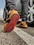 Кросівки чоловічі 18372, Reebok, коричневі, [ 41 42 43 44 45 46 ] р. 41-26,3 див., фото 5
