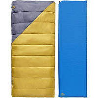 Комплект спальник-коврик Kelty Campgroud Kit
