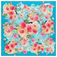Платки 76×76, полотно