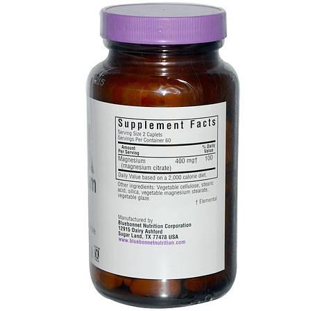 Цитрат Магния, Bluebonnet Nutrition, 120 капсул, фото 2