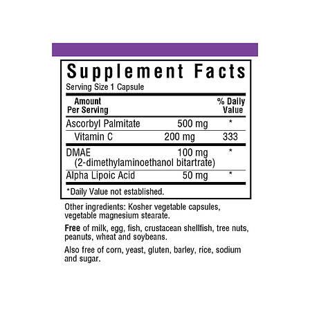 Формула Омоложения Кожи, Bluebonnet Nutrition, Age-Less Skin Formula 60 растительных капсул, фото 2