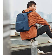 Рюкзак Xiaomi RunMi 90 Points Youth College Backpack Navy (6972125147950)