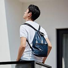Рюкзак Xiaomi RunMi 90 Points Lightweight Urban Drawstring Backpack Blue (6972125146144)