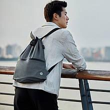 Рюкзак Xiaomi RunMi 90 Points Lightweight Urban Drawstring Backpack Dark G (6972125146151)