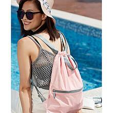 Рюкзак Xiaomi RunMi 90 Points Lightweight Urban Drawstring Backpack Pink (6972125146175)