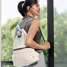 Рюкзак Xiaomi RunMi 90 Points Lightweight Urban Drawstring Backpack White (6972125146168)