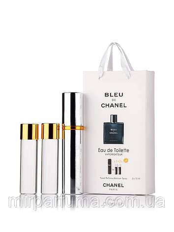 Мужской мини набор 45ml Chanel Bleu Men оптом, фото 2