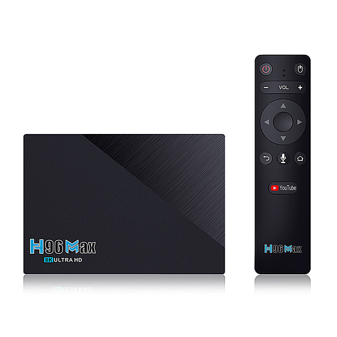 Смарт ТВ приставка H96 MAX 3566 4/32Gb, фото 2