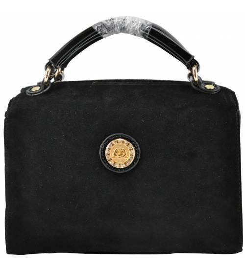 Жіноча сумка чорна 68-28