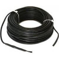 Двужильный нагревательный кабель для ситем антиобледенения и снеготаяния без вилки Hemstedt DA 180 Вт (Длина 6 м)