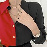"Женская двухцветная блуза ""Nikita""  Норма, фото 10"