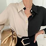 "Женская двухцветная блуза ""Nikita""  Норма, фото 8"