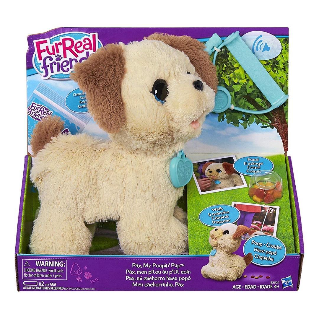Интерактивный щенок FurReal Friends Пакс Pax My Poopin Pup FurReal Friends